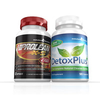 Image of Hiprolean X-S Caffeine Free Fat Burner Cleanse Combo Pack - 1 Month Supply
