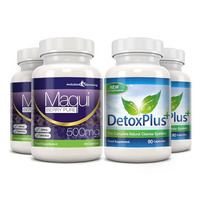 Image of Maqui Berry & Detox Cleanse Combo Pack - 2 Month Supply