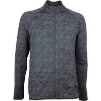 Image of Adidas Golf Jacket - Adicross Beyond 18 Knit - Carbon SS18