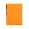 Image of A4 Portrait, Orange - Classic / Off White / 70