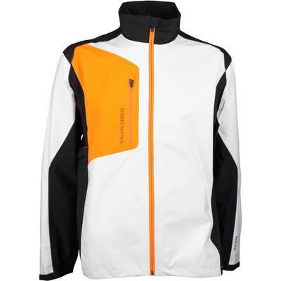 Galvin Green Waterproof Golf Jacket ANGELO Paclite White 2018