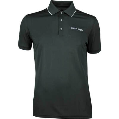 Galvin Green Golf Shirt MARTY Tour Black SS20