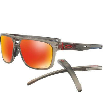 Oakley Golf Sunglasses Crossrange Patch Grey Ink Ruby Prizm 2018