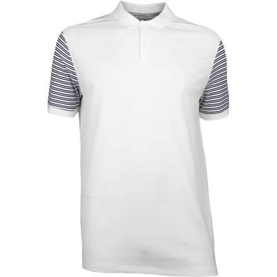 Nike Golf Shirt NK Dry Pique Stripe White SS18