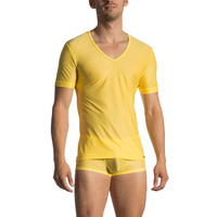 Olaf Benz Red 1770 Low V-neck T-shirt