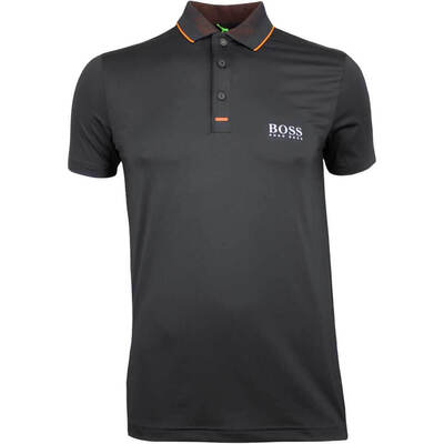 Hugo Boss Golf Shirt Pauletech Pro Black PF18