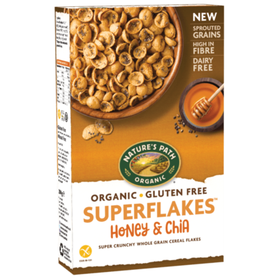 Nature's Path Honey & Chia Superflakes 284g