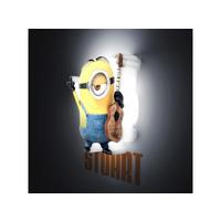 Despicable Me Minions Mini 3D LED Wall Light Stuart