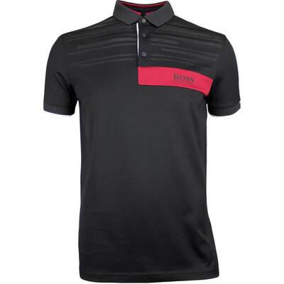 Hugo Boss Golf Shirt Paddy MK 1 Black FA18