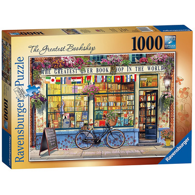 Ravensburger The Greatest Bookshop 1000pc Jigsaw Puzzle