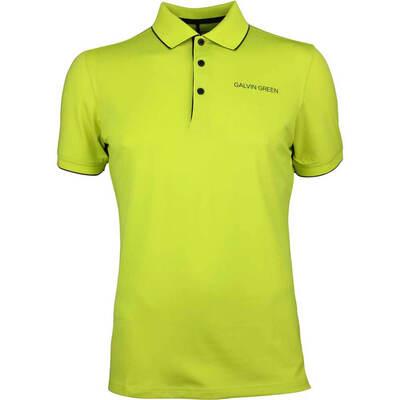 Galvin Green Golf Shirt Marty Tour Lemonade AW18