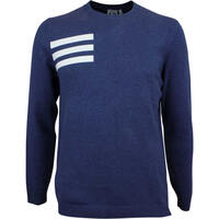 Image of Adidas Golf Jumper - Blend Crew Sweater - Collegiate Navy AW18