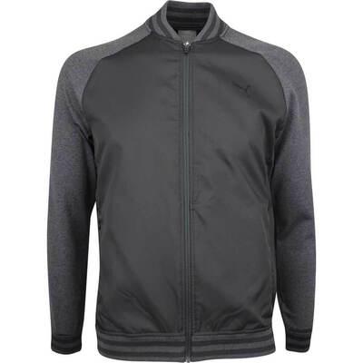 PUMA Golf Jacket Bomber FZ Black LE SS19