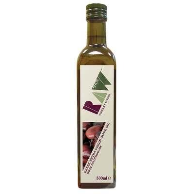 Raw Health Organic Greek Extra Virgin Olive Oil 500ml