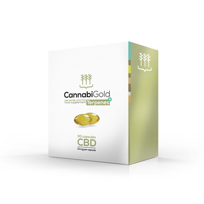Cannabigold Smart CBD Soft-Gels 10mg - 30 Capsules