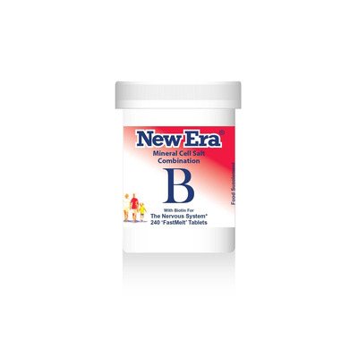 New Era Combination B - For The Nervous System 240 Tablets