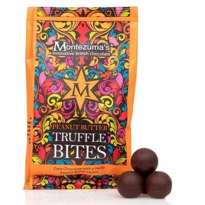 Montezumas Dark Chocolate Peanut Butter Truffle Bites