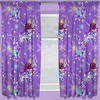 Disney Frozen Curtains 72s - Transparent