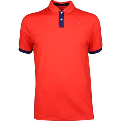 Nike Golf Shirt Vapor Solid Habanero Red AW19