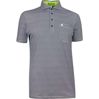 GFORE Golf Shirt Feeder Stripe Polo Twilight SS19