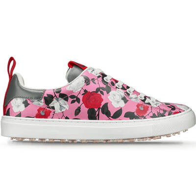 GFORE Golf Shoes Roses Disruptor Pink Floral 2019