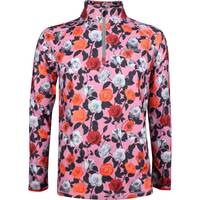 GFORE Golf Pullover Roses Mid Pink Floral SS19