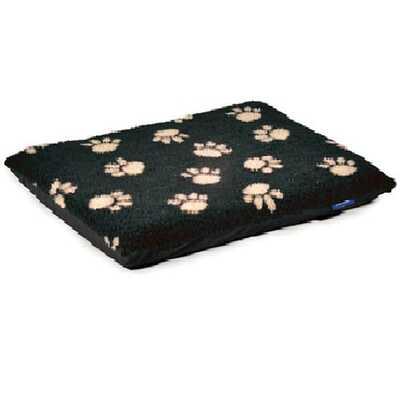 Ancol Paw Flat Pad - Cream Footprint on Black Pad