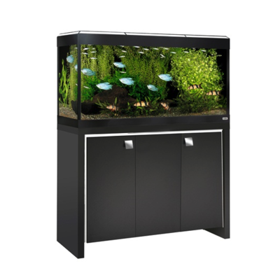 Fluval Roma 200 in Black with White Finish