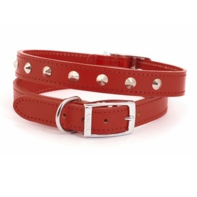 Ancol Heritage Studded Leather Collars