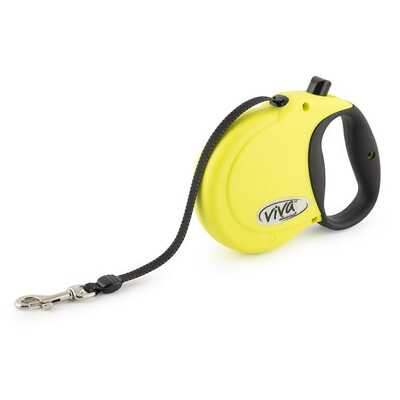 Ancol Viva Hi-Vis Reflective Retractable Tape Lead