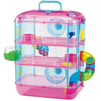 Lazy Bones 3 Storey Hamster Cage