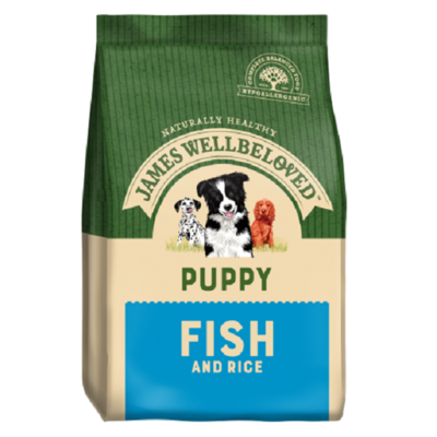 James Wellbeloved Puppy Fish & Rice Dog Food