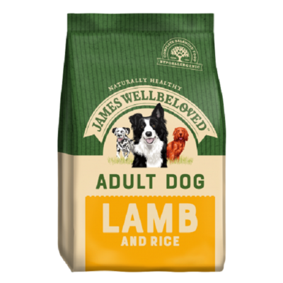 James Wellbeloved Adult Lamb & Rice Dog Food