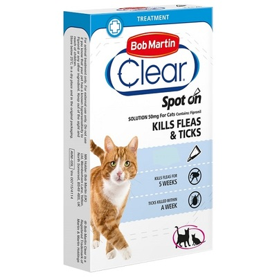 Bob Martin FleaClear Spot-On Cats
