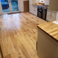 Calder Engineered Natural Oak Lacquered 150mm x 14/3mm Wood Flooring