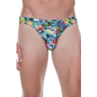 Andrew Christian Show-it Bulge Enhancing Brief Heather Grey/red