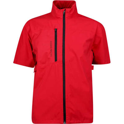 Galvin Green Waterproof Golf Jacket Alvin Paclite Red 2019