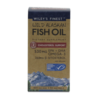 Wild Alaskan Fish Oil Cholesterol Support 90's