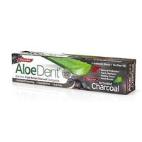 Aloe Vera Triple Action Charcoal Toothpaste Strong Mint (Fluoride Free) 100ml