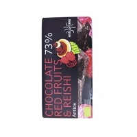Chocolate, Red Fruits & Reishi 100g