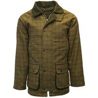 Walker & Hawkes Mens Beige Tweed Shooting Country Coat / Jacket - S