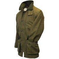 Walker & Hawkes Mens Forest Green Tweed Shooting Coat / Jacket - S