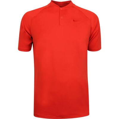 Nike Golf Shirt NK Dry Momentum Blade Habanero Red AW19
