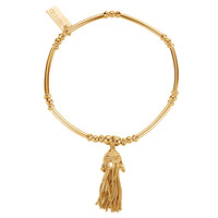 Didi Tassel Bracelet - Gold