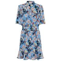 Eva Dress - Azure Blue