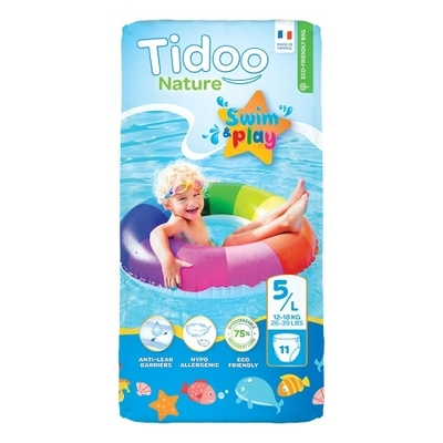Tidoo Size 5 Swimming Nappies - 11 Nappies