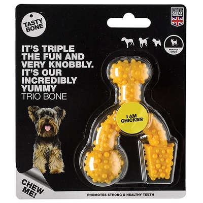 TastyBone Toy/Puppy Trio Bone