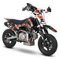 10Ten 90R 90cc Motorbike 62cm Semi-Automatic Mini Supermoto Pit Bike