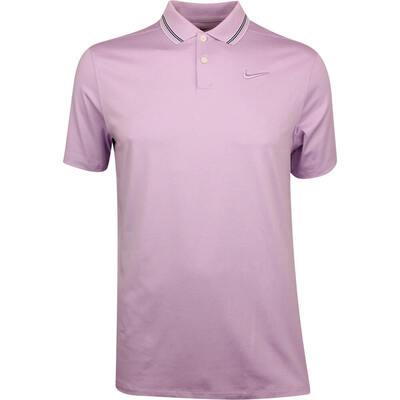 Nike Golf Shirt Vapor Control Stripe Lilac Mist SS19
