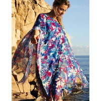 Anita Naila Poncho Beachdress Cover up